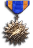 The Air Medal, which Ajo-Kinney's logo is proudly based upon